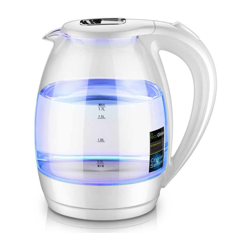 все цены на Electric kettle Household glass electric food grade 304 stainless steel boiling pot large capacity