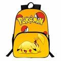 Free Shipping Nintendo Game Poke Go Backpack Cartoon Pikachu School Bag for Teenagers Gift for Back School Dollar Price