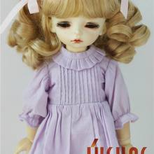 JD405 1/6 1/4 1/3 BJD кукла парик YOSD MSD SD довольно bjd syntheitc мохер парики 6-7 дюймов 7-8 дюймов 8-9inchinch волос аксессуары для куклы