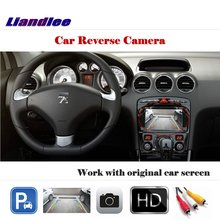 Автомобильная камера заднего вида для Пежо 408 камера заднего вида работает с экраном фабрики Carmera