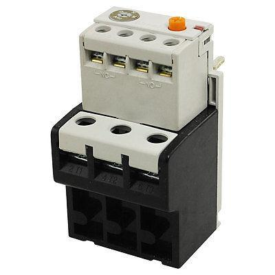 Adjustable Overcurrent Protection Three Phase Thermal Overload Relay 24-36A 7 10a adjustable thermal relay  overload