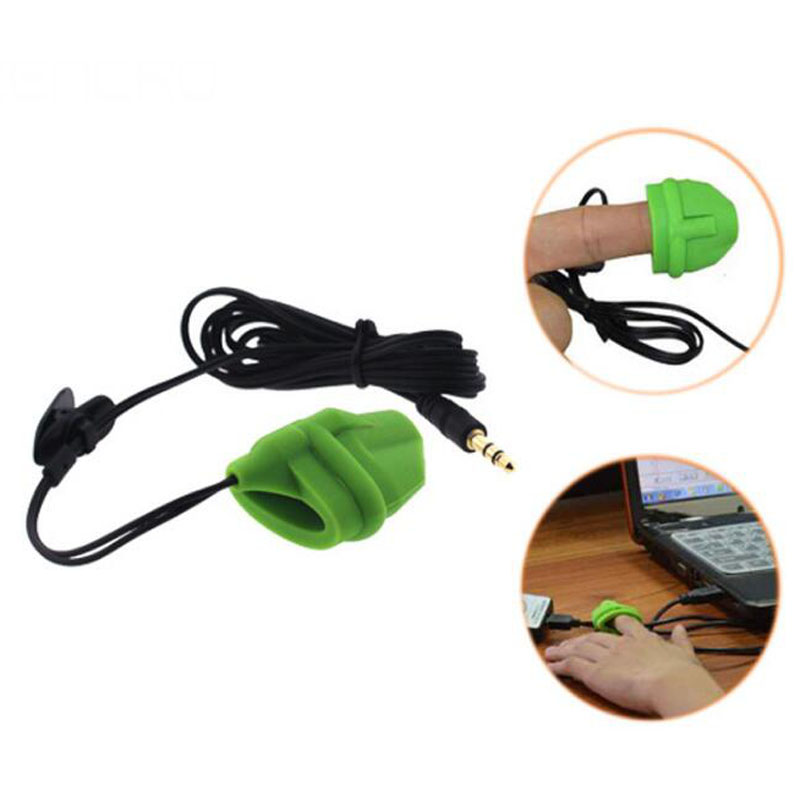 Banggood New Style Silicon Finger Clip Infared Sensor IR Pulse Heart Rate Pulse Monitor for PC