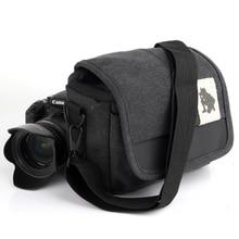 DSLR Lowepro Camera Shoulder Bag SLR Canvas Photo Handbag Lens Cases Shockproof Digital Bags for Olympus PEN PEN-F E-PL8