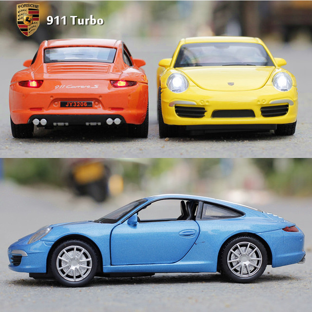 Pour porche 911 super mod le de voiture enfant 132 alliage artificielle voiture jouet dans sous - Porches para coches ...