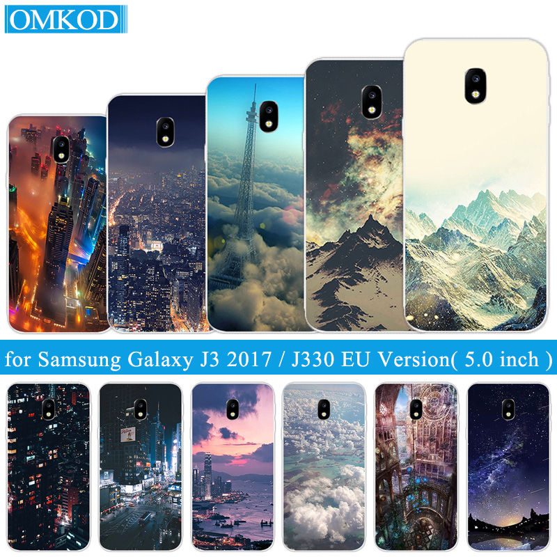 Coque Pour Samsung Galaxy J3 2017 J330 J330F (Version