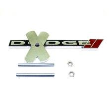 Aleación De Metal Parrilla Emblema para Dodge Emblemas Logotipo en la Red