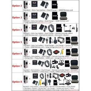 Image 5 - Oryginalna kamera akcji SJCAM SJ8 Pro 4K 60FPS pilot wifi kamera na kask Ambarella Chipset 4K @ 60FPS ultra hd sporty ekstremalne DV
