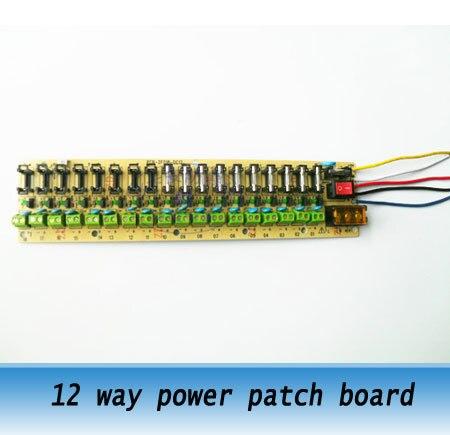 18way netzteil platine 12 V verteiler power patch platine ...