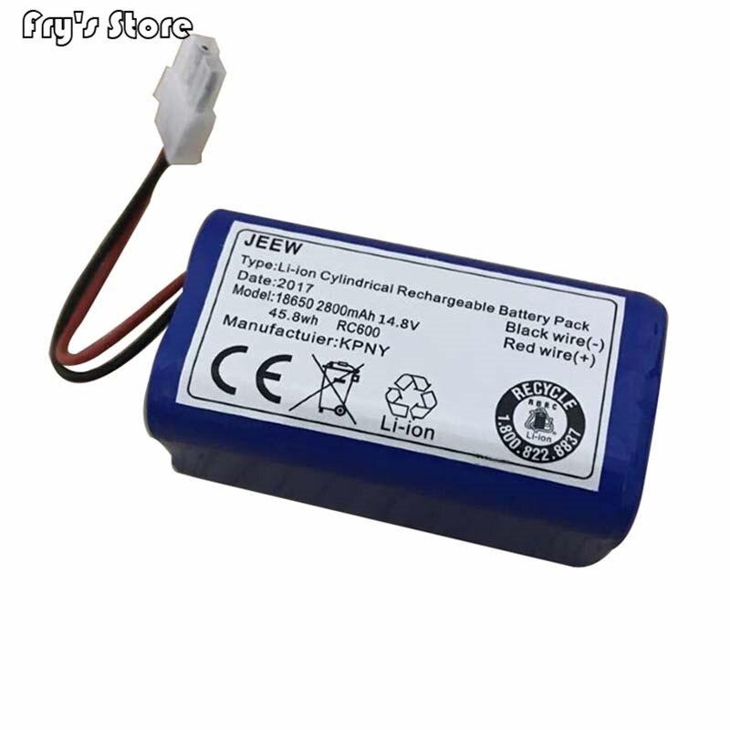 14.8V 2800mAh Bateria de substituição Pack para chuwi v7 ilife robô Aspirador de pó V7S Pro Robotic Sweeper 1PCS