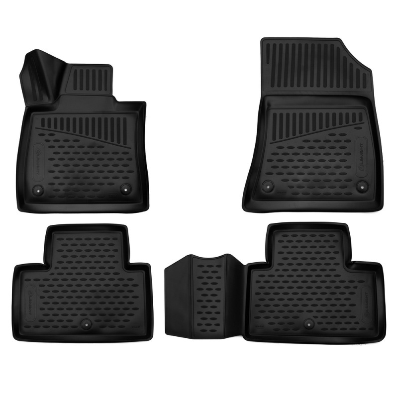 Car Mats 3D salon fit For INFINITI EX/QX50, 2018-> 4 PCs (polyurethane)