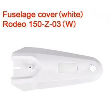 5pcs/Lot Walkera Rodeo 150 RC Quadcopter Spare Part Body Cover  Fuselage Cover Rodeo 150-Z-03(W) Rodeo 150-Z-03(B)