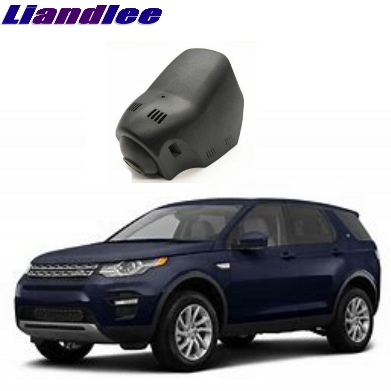 Liandlee For Land For Rover LR Discovery Sport 2014~2018 Car Black Box WiFi DVR Dash Camera Driving Video Recorder liandlee for bmw 2 series f22 f45 2014 2018 car black box wifi dvr dash camera driving video recorder
