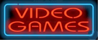 Video Games NEON SIGN REAL GLASS BEER BAR PUB LIGHT SIGNS display Pawn Shop Restaurant exchange Advertising Light 17*14\