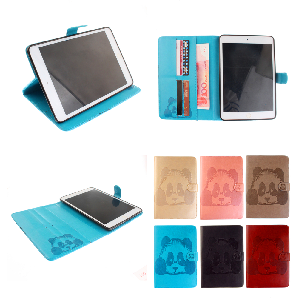 Panda PU Leather case for Samsung Galaxy Tab 3 8.0 T310 T311 with stand function Tab3 8.0 SM-T310 SM-T311 Tablet case cover #R