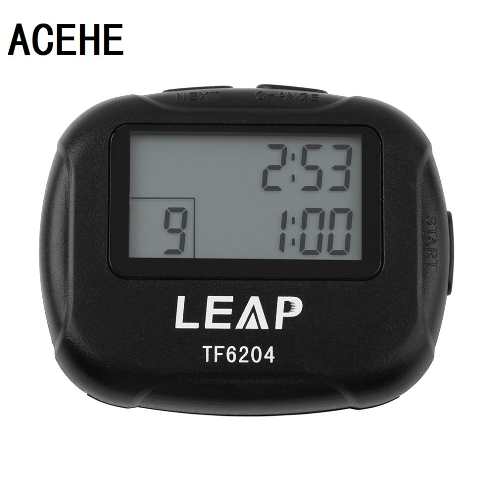 ACEHE Training Electronics Interval Timer Segment Stopwatch Interval Chronograph for Sports Yoga Cross-Fit Boxing GYM Trainings nobrand interval в комплекте с матрасом