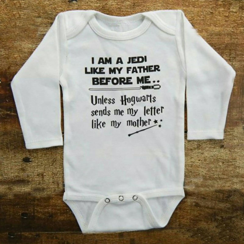 Infant Baby Boy Girl Clothes 2018 Funny LIKE MY FATHER Tiny Cottons Autumn Long Sleeve Baby Bodysuit Newborn Baby Onesie 0-18M 3pieces lot natural cotton baby bodysuit newborn baby long sleeve underwear 0 1 years infant boy and girl pajamas clothes