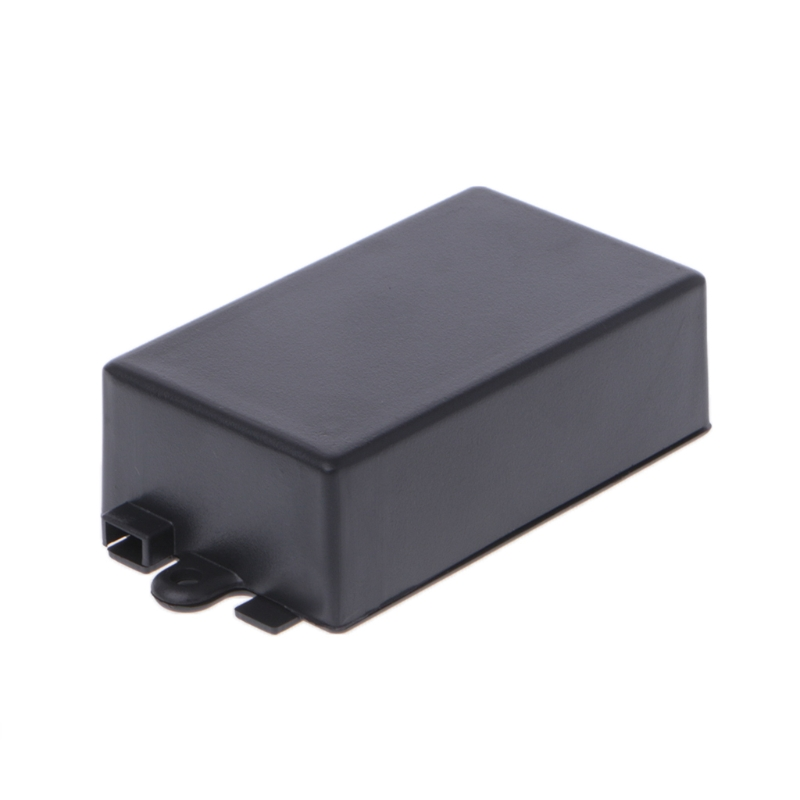 OOTDTY Waterproof Plastic Electronic Enclosure Project Box Black 65x38x22mm ConnectorOOTDTY Waterproof Plastic Electronic Enclosure Project Box Black 65x38x22mm Connector