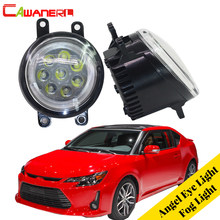 Cawanerl 2 Pieces Car LED Bulb Fog Light Angel Eye Daytime Running Light DRL 12V Styling For Scion tC 2011 2012 2013(China)