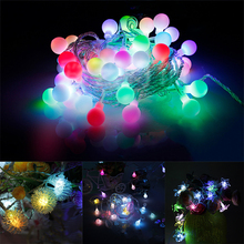 1M/5M Hairball LED String Light Warm White Fairy Light Holiday Light For Party Wedding Decoration Christmas Lights Garland цена в Москве и Питере