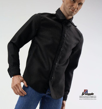 1/6 Scale Solid Color White Black Shirt Model for 12Male Female Figures