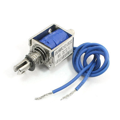 цена на Pull Push Type Electric Solenoid Electromagnet 5mm 0.2g 12VDC/DC24V ZYE1-0520