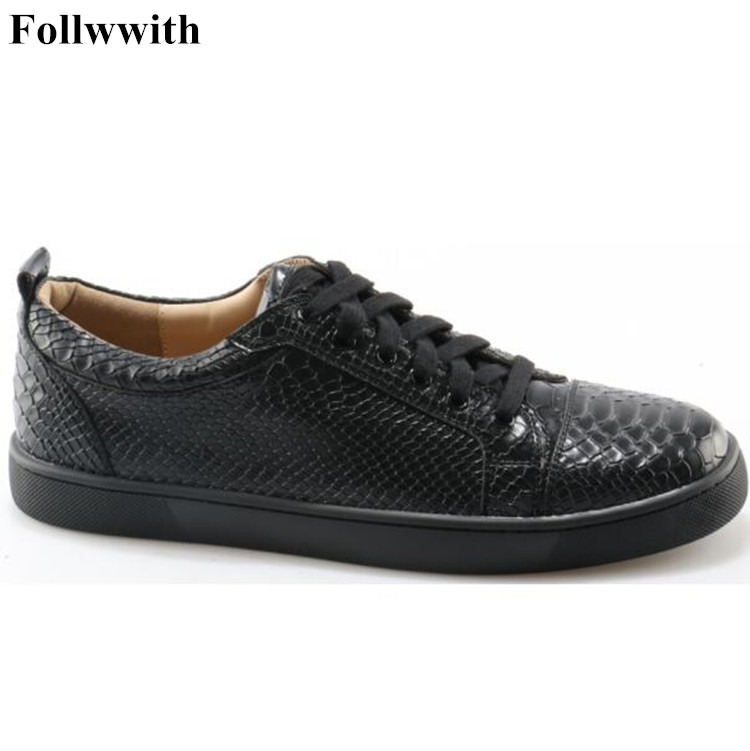 2018 New PU Leather Platform Zapatos Hombre Luxury Spikes Studded Flats Lace Up Casual Men Shoes High Quality Motorcycle Shoes lowest price new 2016 high quality pu men casual flats shoes fashion men summer chaussure homme shoes for men zapatos hombre