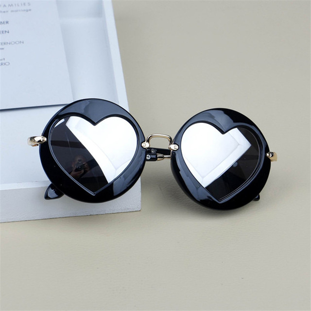 Metal Heart Kids Sunglasses 3
