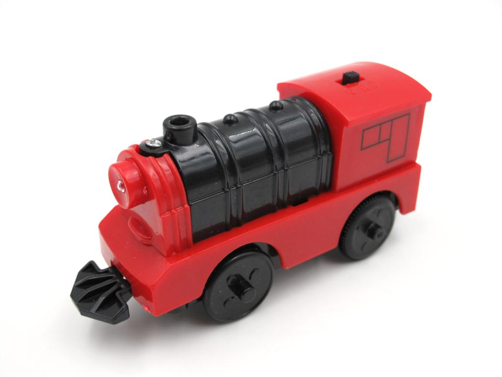 Combination Of Magnetic Electric Locomotive TTO28 Train Wooden Track Compatible With Brio Track Train Set