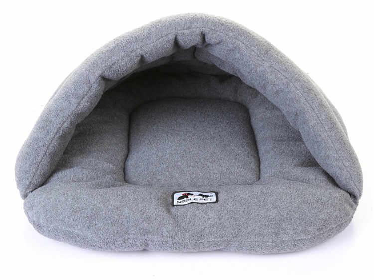 Pantuflas cálidas para invierno, cama para perro, casa para perro, adorable, suave, apto para gato, cama para perro, productos de alta calidad para cojín de Mascota