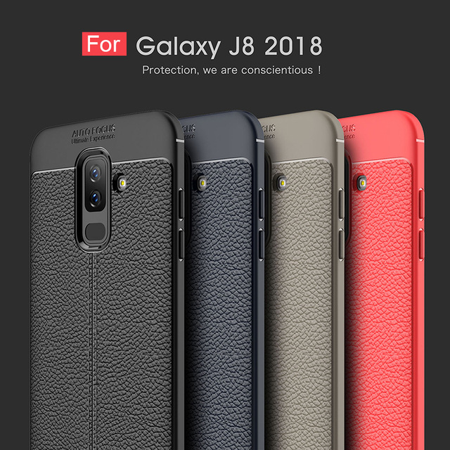 timeless design 574e4 82d25 US $4.73 |For Samsung Galaxy J8 2018 Case Soft Silicone Protector Cover  Shock Proof Anti Slip TPU Phone Case For Samsung J8 2018 SM J800FN-in  Fitted ...