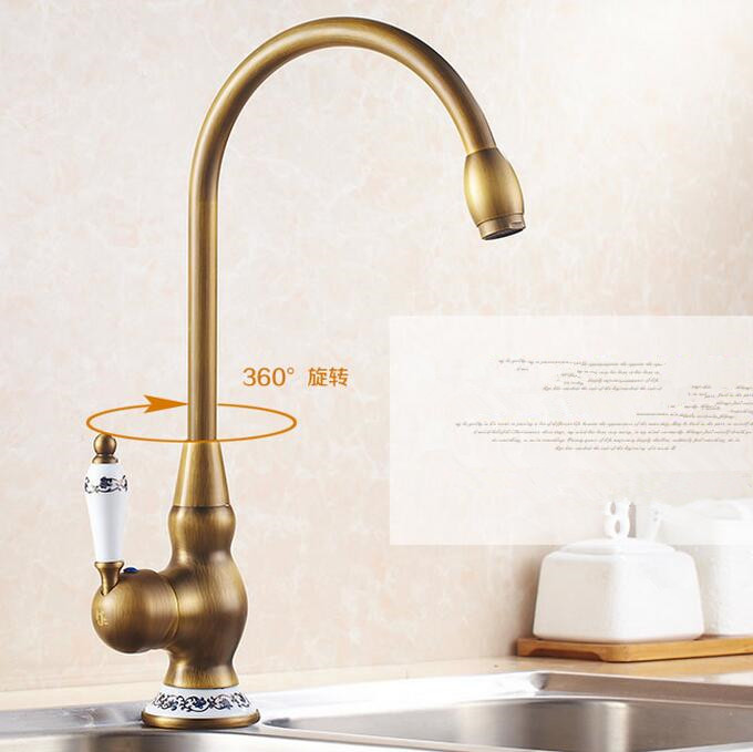 Bathroom Faucets That Swivel antique brass bathroom faucet. antique brass bathroom faucets