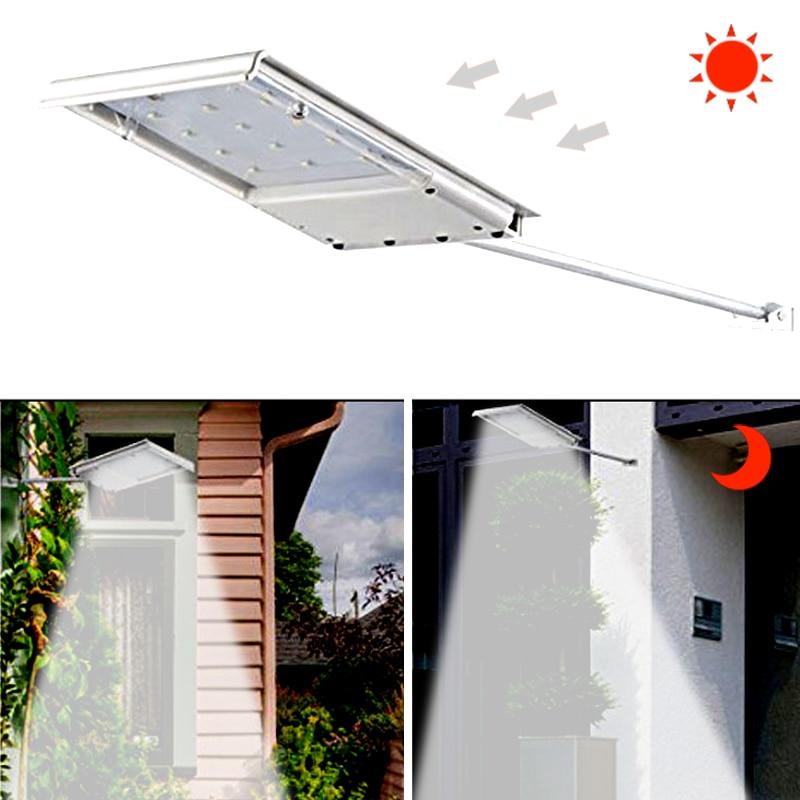 solar lampada de parede luzes rua sensor 02