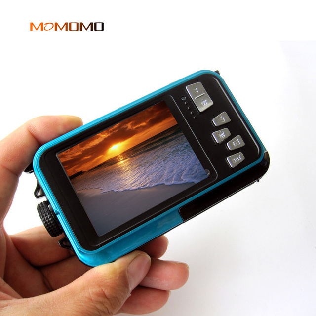 Waterproof Digital Camera Dual Screens (Back 2.7 inch + Front 1.8 inch) HD 1080P 16x Zoom Camcorder Cam DC998 Cameras Cameras & Photography Consumer Electronics Electronics Photo Cameras Video Cameras