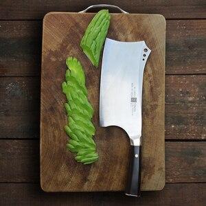 Image 5 - Fangzuo 4cr14mov Bộ Dao Nhà Bếp Thép Không Gỉ 7 Thớt Dao Nhà Bếp Gỗ Mun Tay Cầm Rau Củ Nấu Ăn Trung Quốc Dao