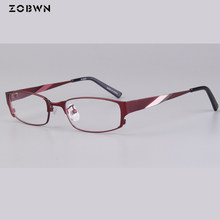 ZOBWN New Arrival glasses Japan quality Top Fashion eyewear Frame Full-rim can put Anti-fatigue lens Computer Eyeglasses women(China)