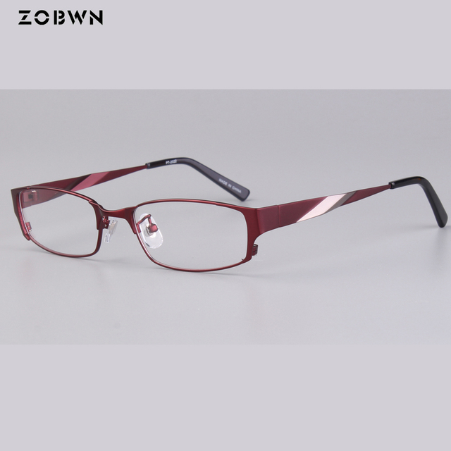4394f3aed42 ZOBWN New Arrival glasses Japan quality Top Fashion eyewear Frame Full-rim  can put Anti-fatigue lens Computer Eyeglasses women
