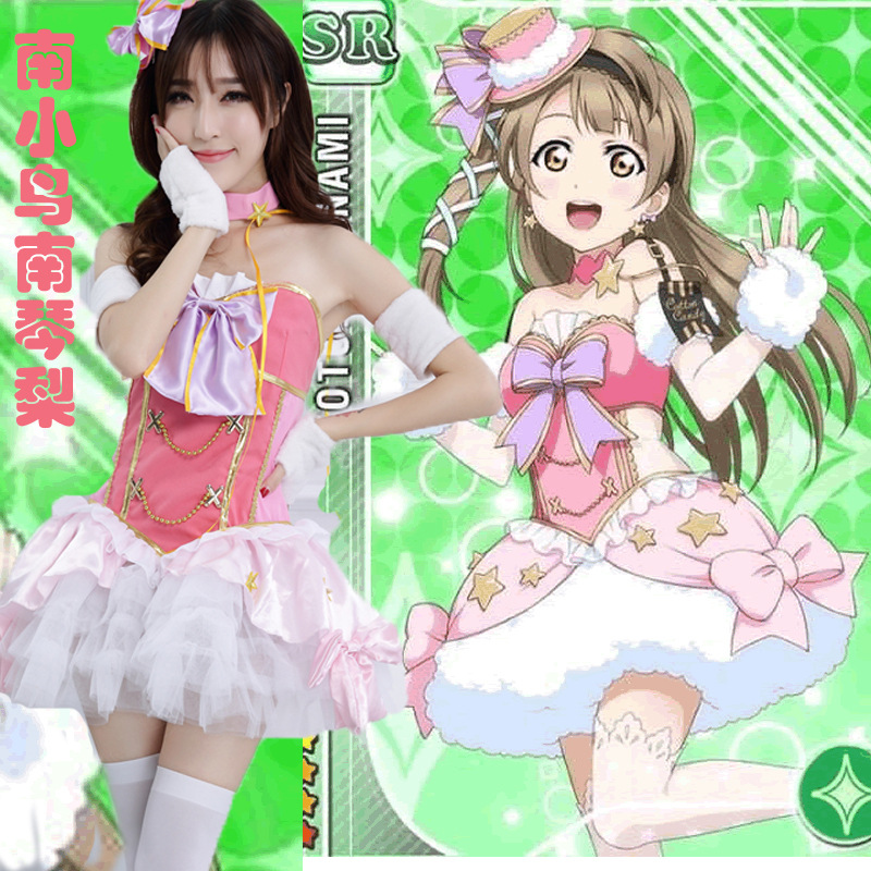 Lovelive! 2018 Japanese Anime Lovelive Minami Kotori Cosplay costumes Angel Princess Lolita Dress Love Live Sexy Women Uniform