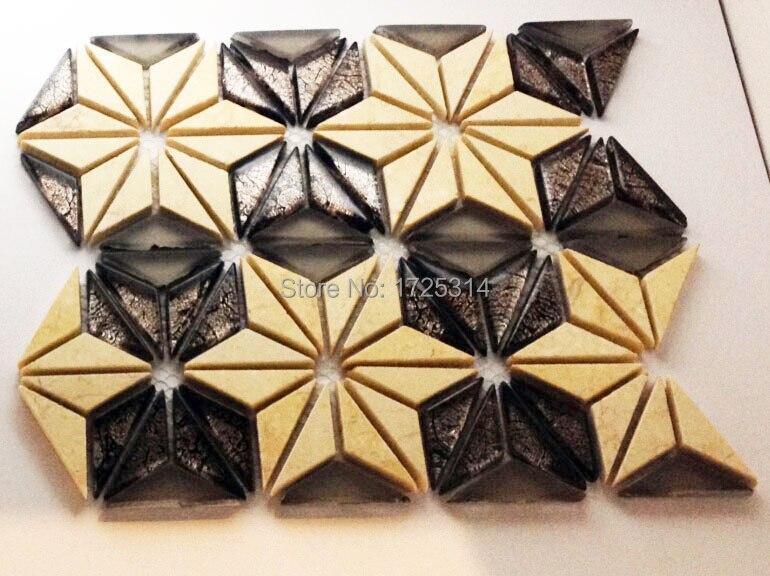 Acquista all 39 ingrosso online mosaico disegni di fiori da for 1250 piedi quadrati di casa