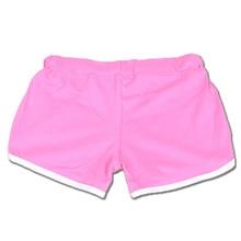 Leisure Elastic Waist Shorts