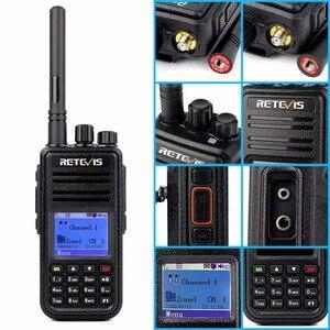 Image 5 - راديو رقمي RETEVIS RT3 DMR (جي بي إس) لاسلكي تخاطب UHF (أو VHF) جهاز إرسال واستقبال محمول باليد مع TYT MD 380 MD 380