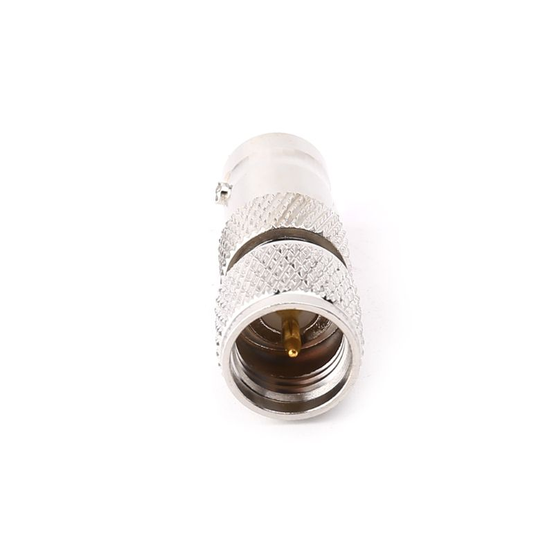 BNC Female To Mini UHF Male RF Connector Coaxial Converter Antenna Adapter