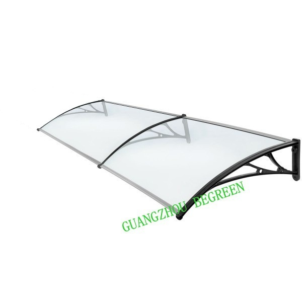 YP100200 100x200cm 39x79in plastic bracket polycarbonate awning, PC window canopy,entrance cover,marquesinas puertas