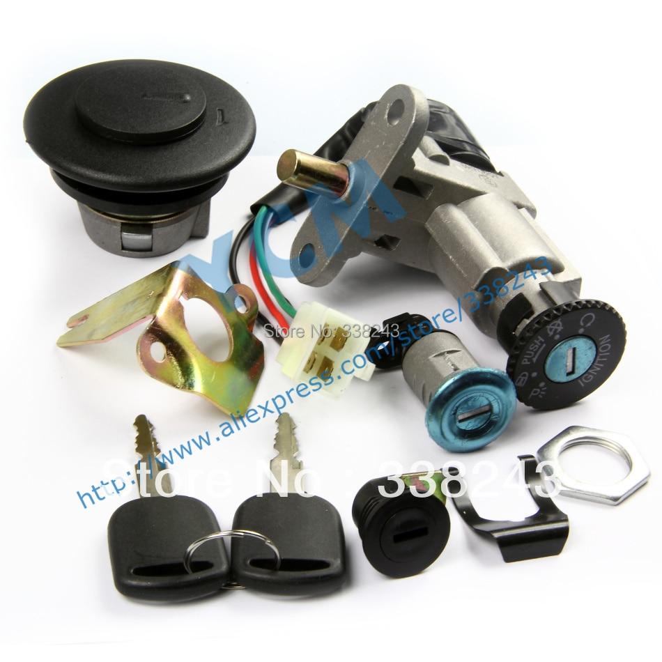 Ignition Switch Lock Key Set For Scooter B08 B09 Cayman Jet West Scooter QJ B08 Vento Vmoto Monza JP50 TS-B08