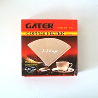 Free Shipping V60 Paper Coffee Filter 40pcs Per Bag Coffee Paper Filter