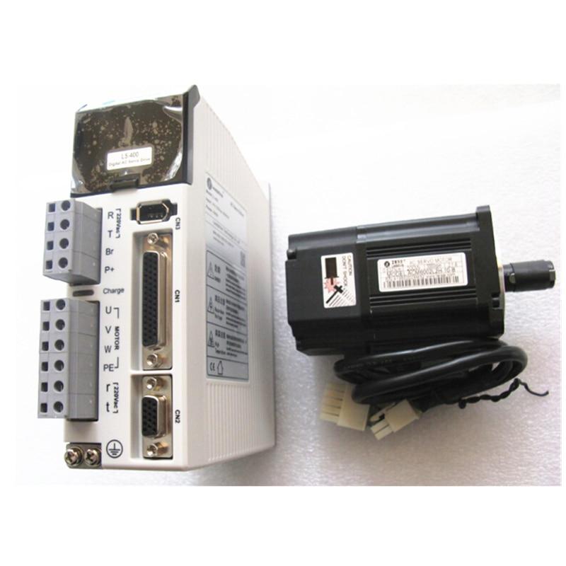 Leadshine 200w ac servo motor drive kits acm6002l2h 10 b for Ac servo motor controller
