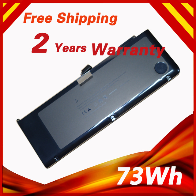 """10.95V 73Wh Laptop Battery For APPLE A1321 For MacBook Pro 15"""" MB985CH/A MB986X/A MC118J/A"""