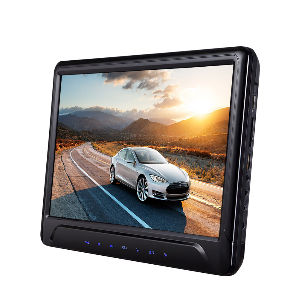 Universal Car Headrest DVD VCD Player 11.6 inch 1080P IR Remote Control Games Emulation SD Card Slot HDMI MP5 FM transmit