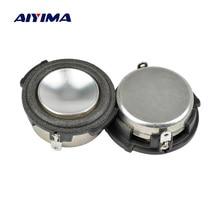 AIYIMA 2 шт 1 дюйм полный диапазон аудио портативный динамик 8 Ом 4 Вт НЧ динамик громкий динамик домашний кинотеатр звуковая система для HARMAN