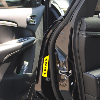 Car-Styling Door Open Safety Warning case For Land Rover Range Rover Evoque Freelander Discovery
