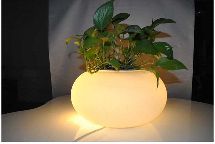 Creative light does not contain plant art lamps